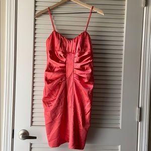 JODI KRISTOPHER 7/8 Sexy Coral Dress